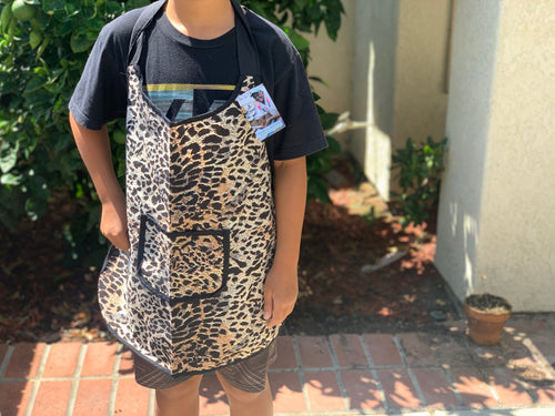 Kids Apron - cheetah