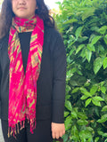 Tie dye scarf small - MORE COLORS