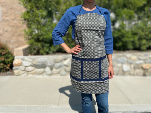 Geo apron - TWO COLORS