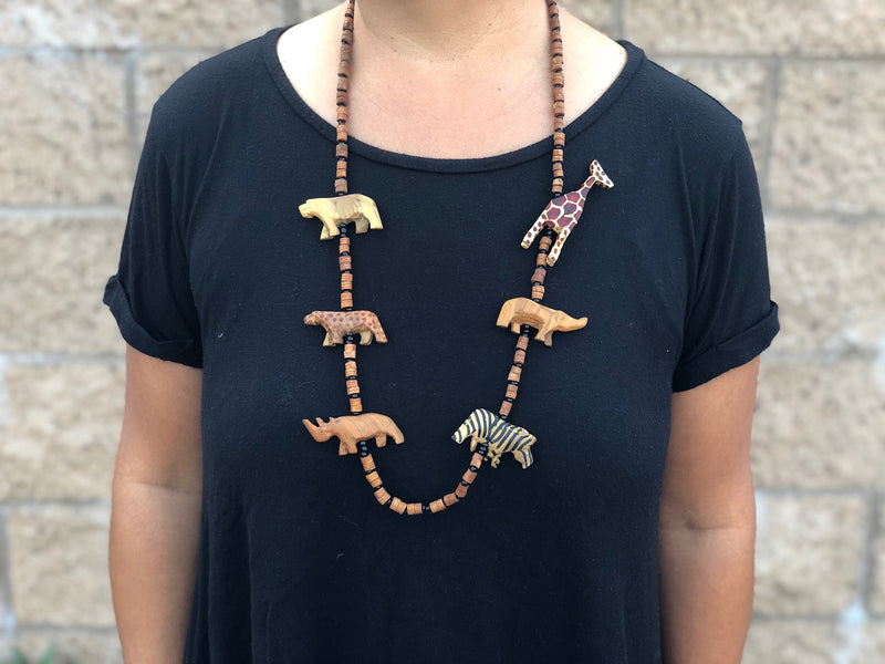 Animal Necklace Long