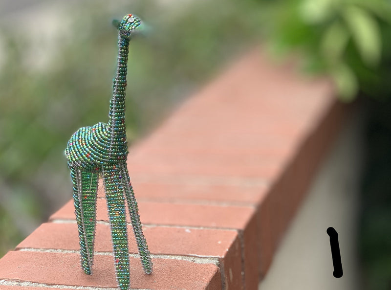 Beaded Animals - giraffe
