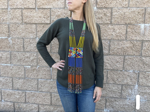 Necklace  - beaded vest