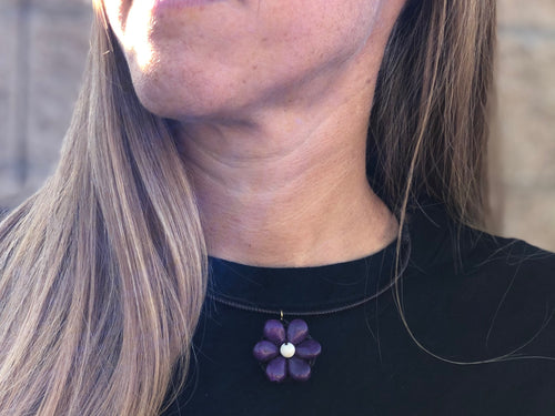 Choker - small flower - MORE COLORS