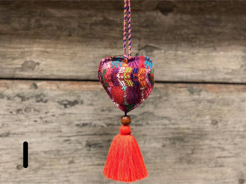 Wipil heart ornament - MORE COLORS