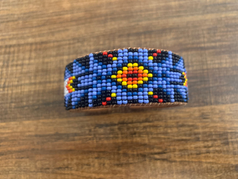 Beaded cuff - indian sm