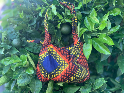 Purse - small kitenge