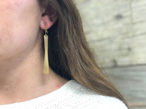 Cowhorn Earrings