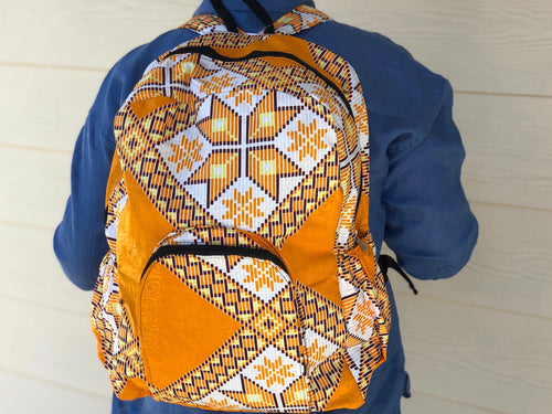 Kitenge backpack - MORE COLORS