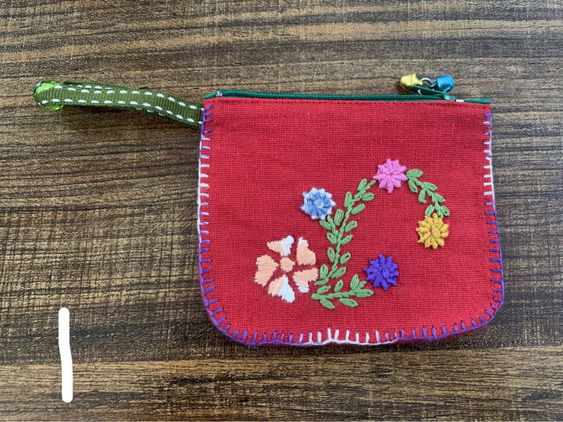 Flower coin purse - MORE COLORS