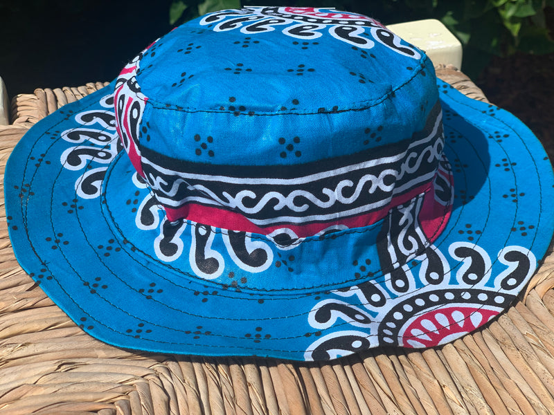 Little kids hats - kitenge