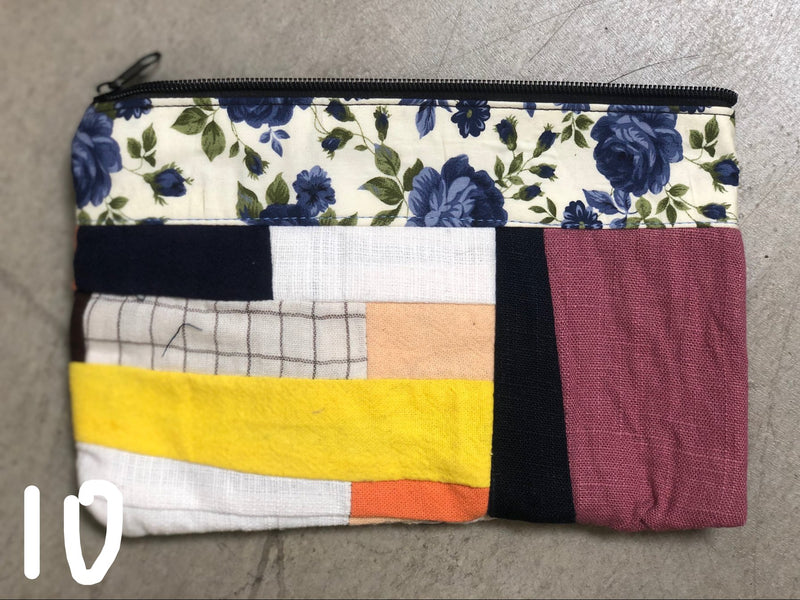 Crazy Assorted Patch wallet