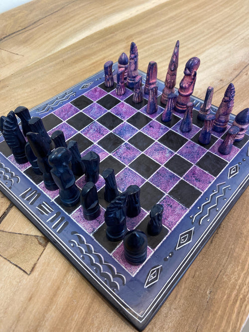 Soapstone Chess set - MORE COLORS