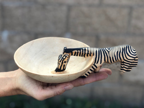 Zebra Drinking Bowl - TWO SIZES