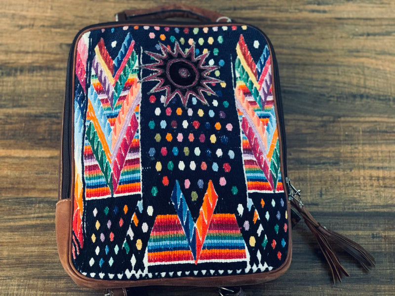 Wipil Leather Convertible Backpack - one of a kind