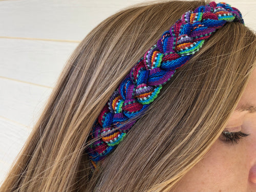 Headband - Braided & Tie