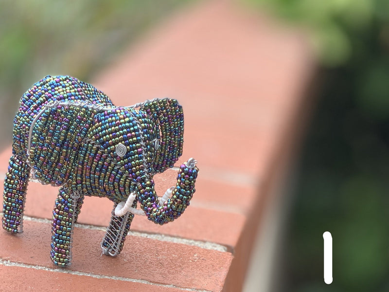 Beaded Animals - elephant