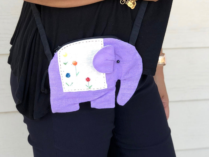 Elephant purse - kids