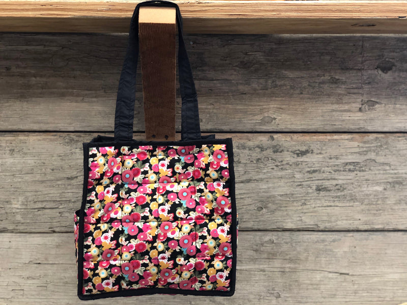Tiny Flower Tote - 4x4 TWO COLORS