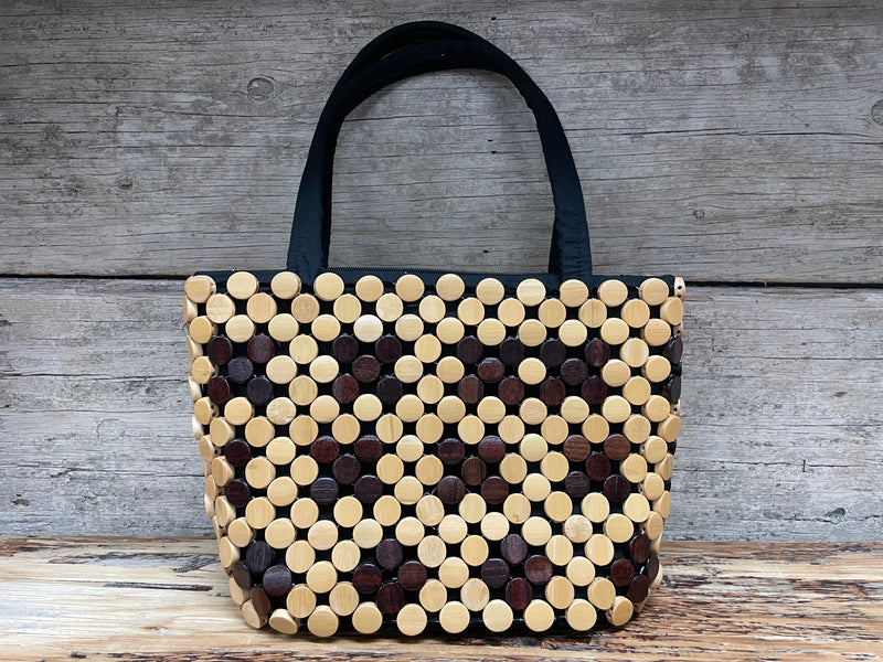 Purse - Wood & Coconut