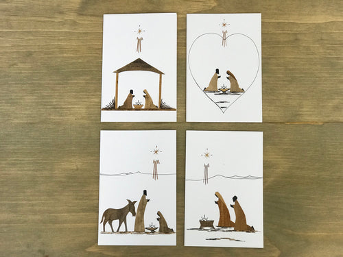 BB Christmas Card - Set of 6