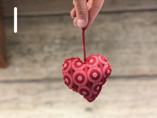 Heart Ornaments - Plain
