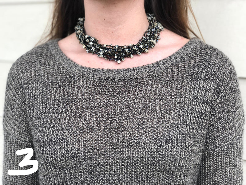 Necklace Crochet Deluxe