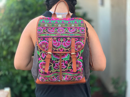 Backpack - vintage hmong