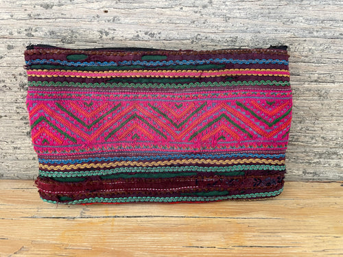 Cosmetic bag - hilltribe vintage