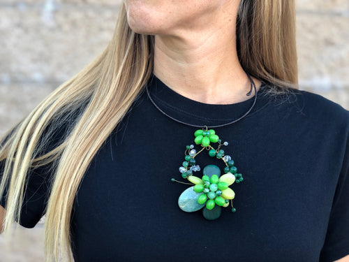 Choker - flower - MORE COLORS