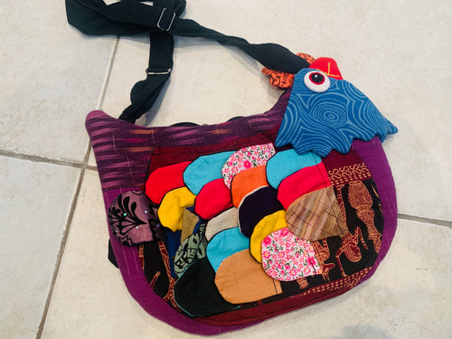 Rooster purse