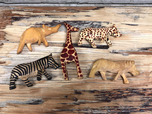 Mini animals -  set of 5