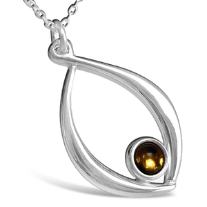 Birthstone Pendant - November (Citrine)
