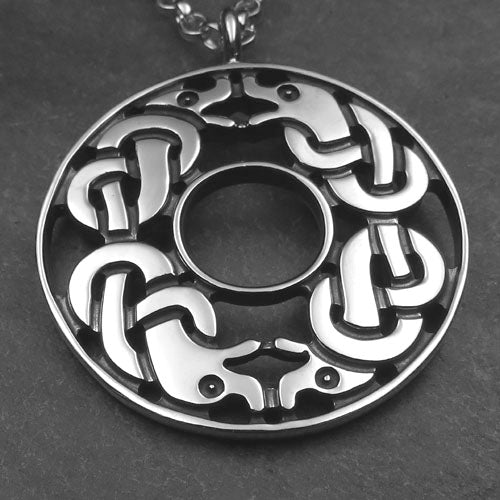 Celtic Dogs Pendant - 792P