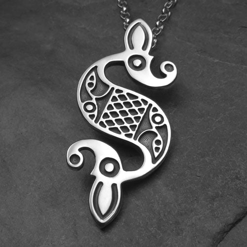Celtic Dragon Pendant - 797P