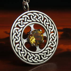 Citrine for November Pendant - 1092P