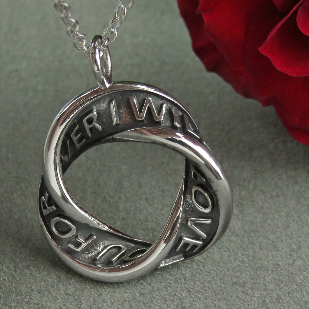 I will love you forever pendant - 1097P
