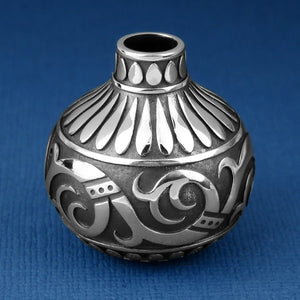 Miniature Silver Pot