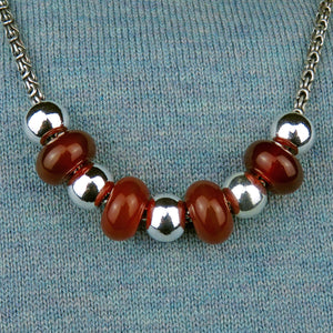 Necklace for Autumn