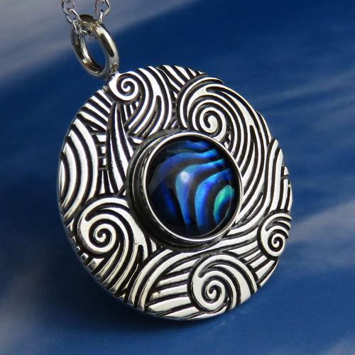 Colours of Skye Waterfall Pendant