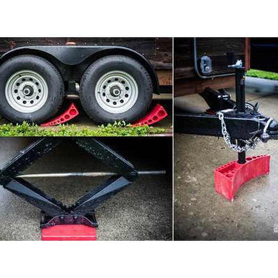 Trailer Accessories - Andersen 3604 - Camper Leveler For Tiny House Trailers