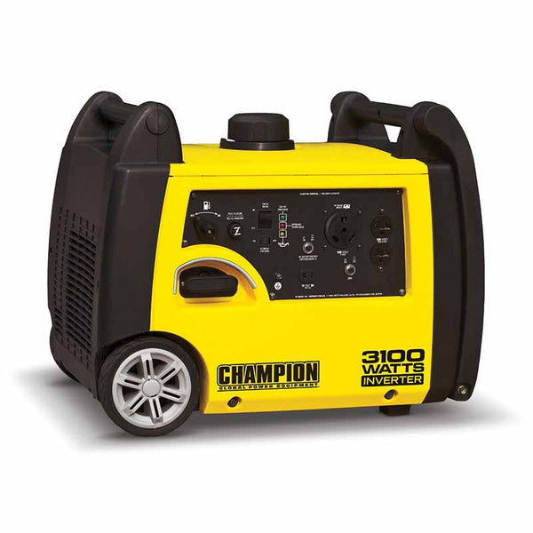Generators - Champion 3100 Watt Portable Inverter Generator - Super Quiet!