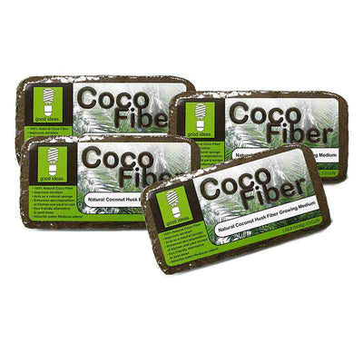 Good Ideas Coco Fiber 4 pack for Composting Toilets Cover Material