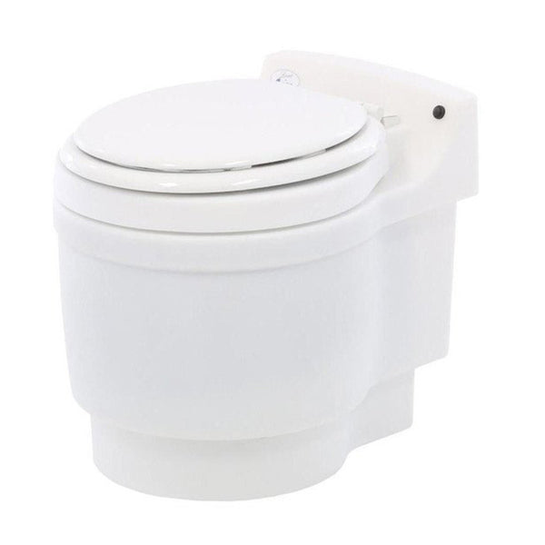 Portable Waterless Toilet - Laveo Dry Flush Waterless Portable Toilet