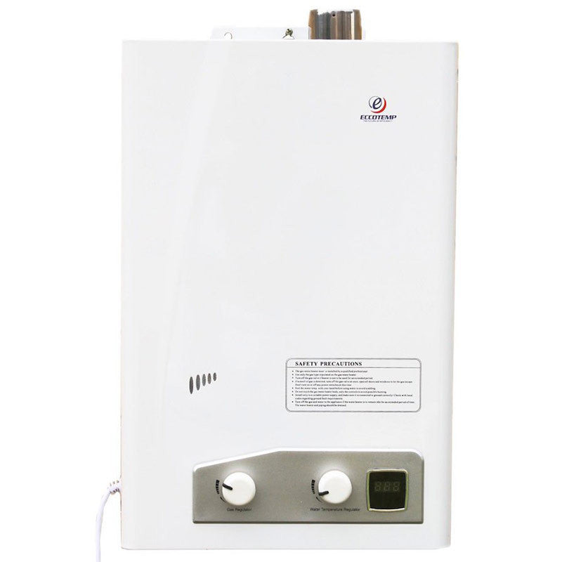 Tankless Water Heater - Eccotemp FVI12-LP 3.4 GPM Indoor Tankless Water Heater