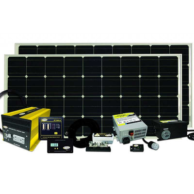 Go Power Solar ELITE Kit 320 Watts Charging System