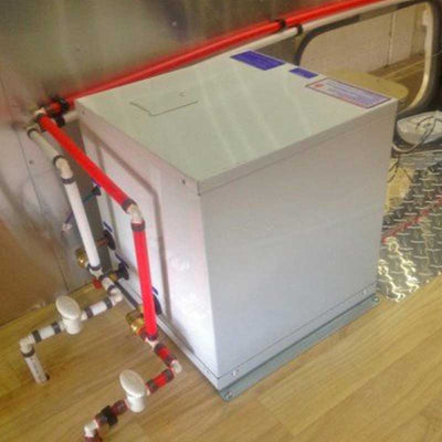 Tankless Water Heater - Precision Temp RV-550 NSP Tankless Water Heater - Floor Vent