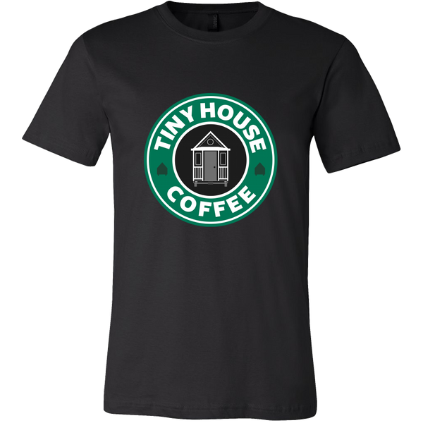 Tiny House Coffee T-shirt | Tiny Houses Inside