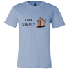 Live Simply Tiny House T-shirt