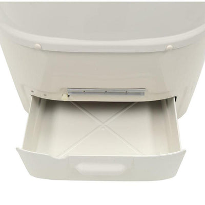 Sun-Mar EXCEL Composting Toilet - Finishing Drawer Open