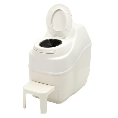 Sun-Mar EXCEL Composting Toilet - Lid Open